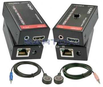 EXTENDER HDMI + IR SU 1 CAVO LAN
