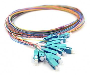 PIGTAIL SET COLOR 50/125 SC/PC
