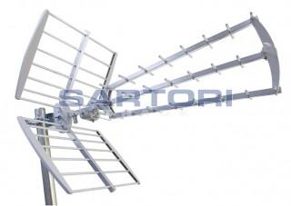 ANTENNE UHF TRIPLEX SPACE DIGITAL