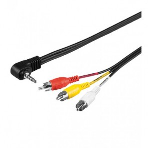 ADATTATORE AUDIO RCA - JACK 3,5MM