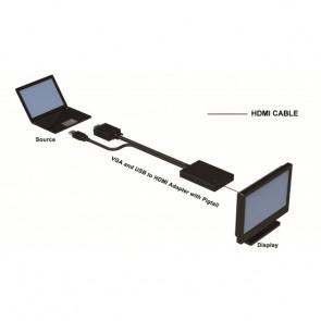 CONVERTITORE DA VGA A HDMI