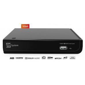 RICEVITORE DVB-T2 TELSYSTEM DESKTOP